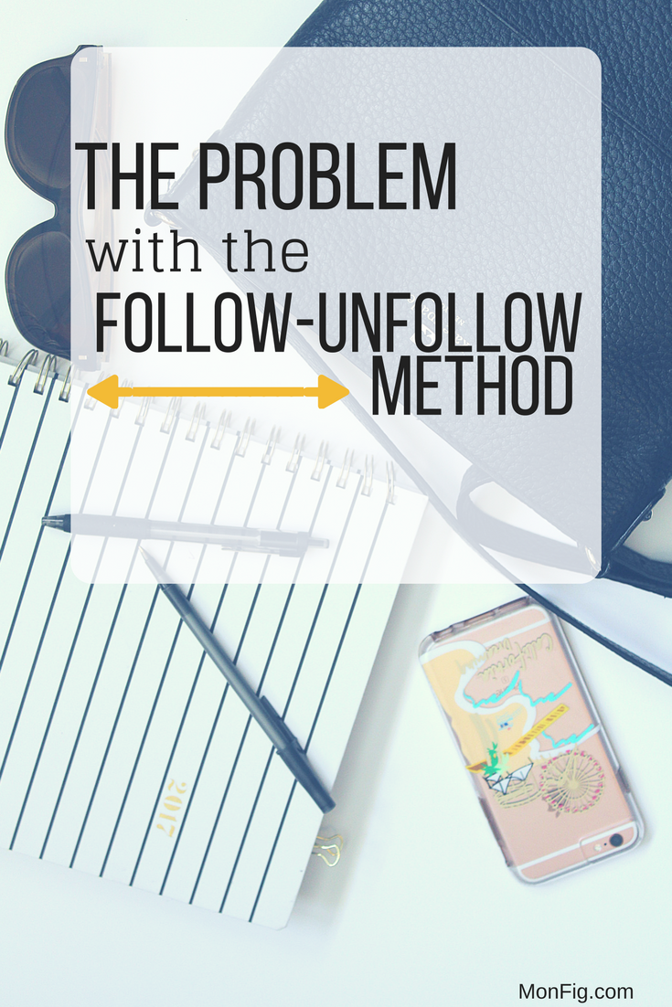 The Problem with InstaRevealed's Follow + Unfollow Method graphic