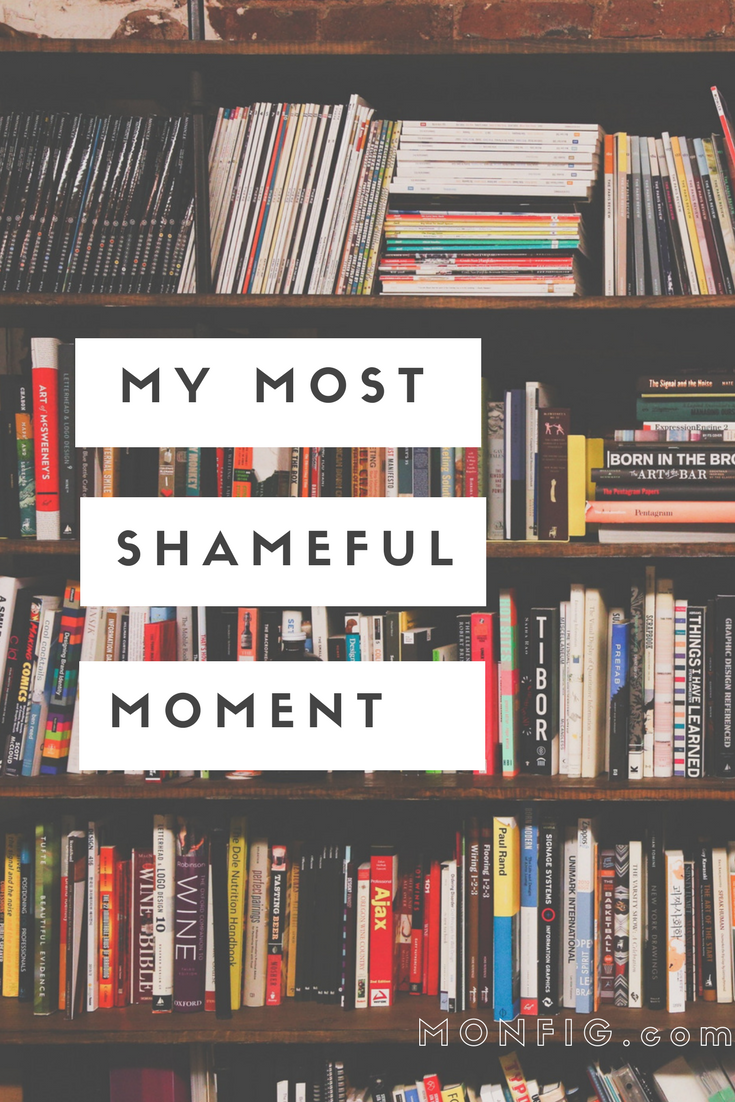 My Most Shameful Moment graphic