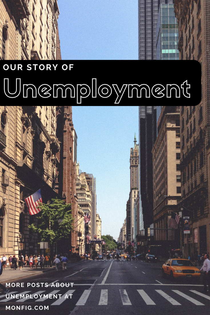 A Real Story of Unemployment graphic