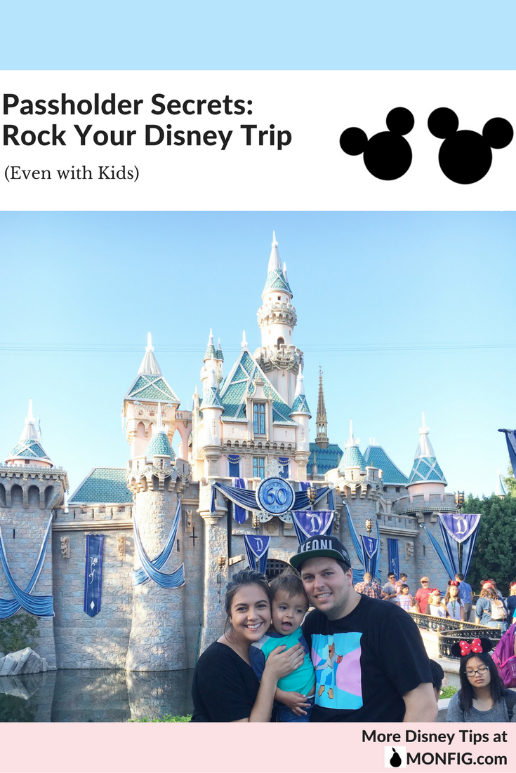 Passholder Secrets: Rock Your Disney Trip [Even with a Toddler] graphic